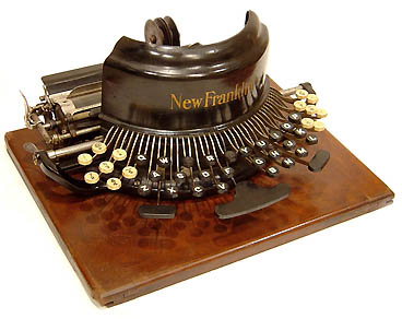 the new franklin typewriter