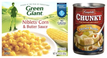 green giant corn and soup